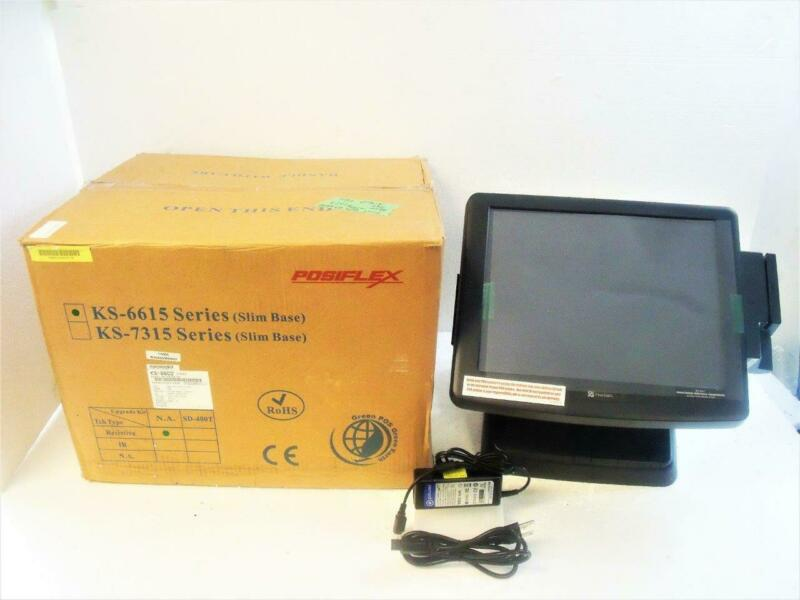 NEW POS KS-6615Z Touchscreen Point of Sale Restaurant Bar by Posiflex w/ Power