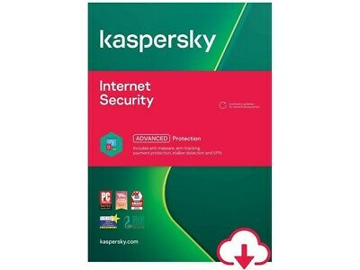 Kaspersky Internet Security 2021 - 5 Devices - PC, Mac, Android