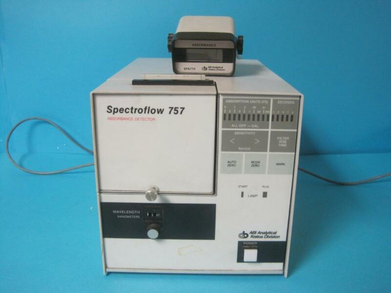 ABI Analytical Kratos Division Spectroflow Absorbance Detector Model 757 Used