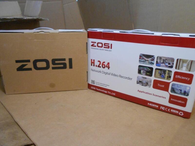 ZOSI - NETWORK DIGITAL SECURITY KIT - 4 PACK CAMERA