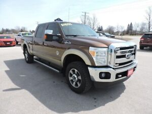 2011 Ford F-250 Lariat. Diesel. 4X4. Leather. Well oiled
