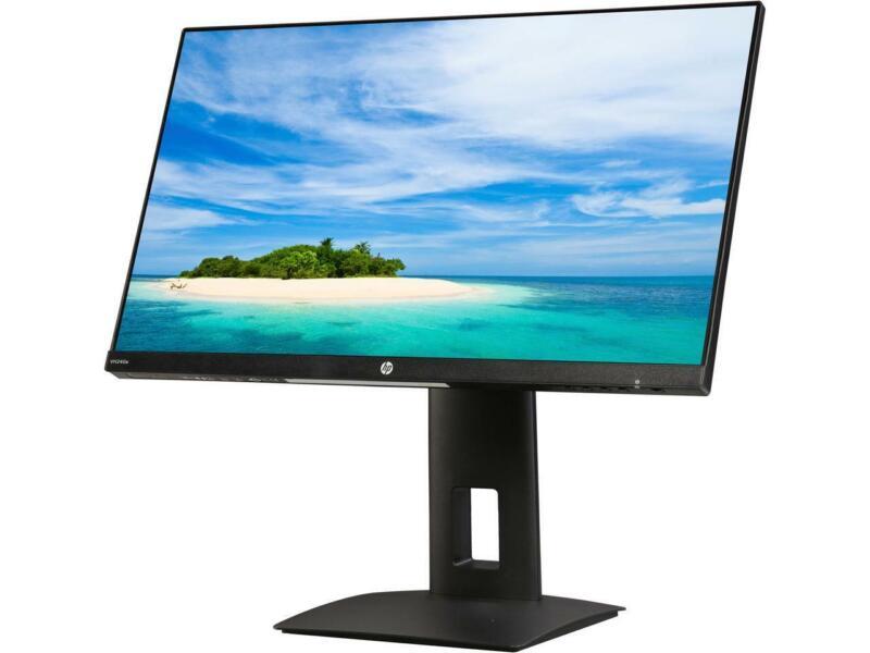 "HP VH240A 23.8"" IPS Full HD LED Monitor HDMI, VGA Height adj. Swivel Pivot VESA"