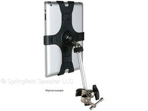 Talent iClaw Mic or Music Stand Holder for iPad and iPad Mini - Clamp Mount