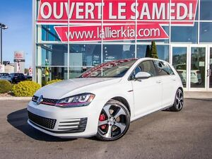 2015 Volkswagen Golf GTI AUTOBAHN EDITION GPS TOIT OUVRANT CAMER