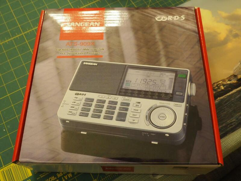 Sangean ATS-909X, AM-FM-MW-SW Radio, One Owner, Box, See My Video, 17 Pictures!