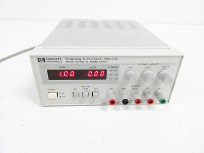 Hp E3630a 0em Triple Output Dc Power Supply 6v 2.5a 20v 0.5a Agilent - C