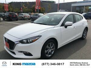 2018 Mazda 3 GX One Owner..Local Trade..Auto..Air..Cruise..Ba...