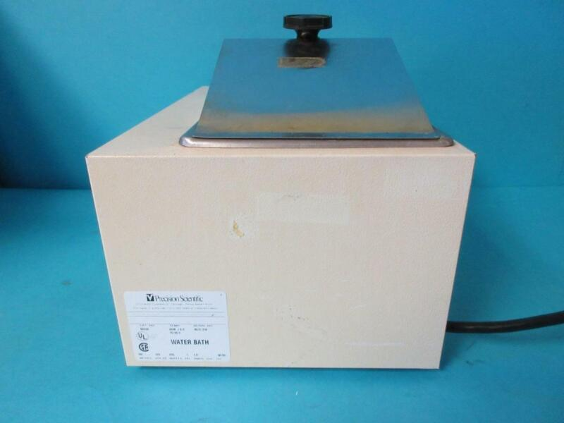 Precision Scientific Heated Water Bath Stainless Steel Model 180 Cat. 66630