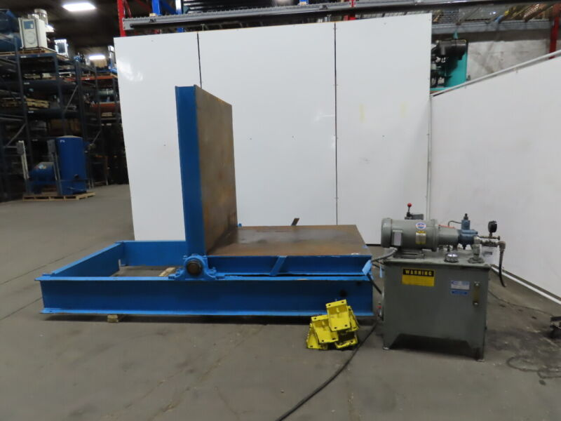 """1000lb 90° Hydraulic Die Mold Coil Heavy Load Tilter/upender 48""""x 47"""""""
