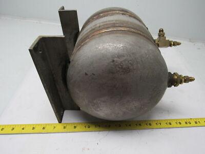 Buckeye Mfg. 1 Gallon High Pressure Industrial Stainless Steel Air Tank 800 Psi