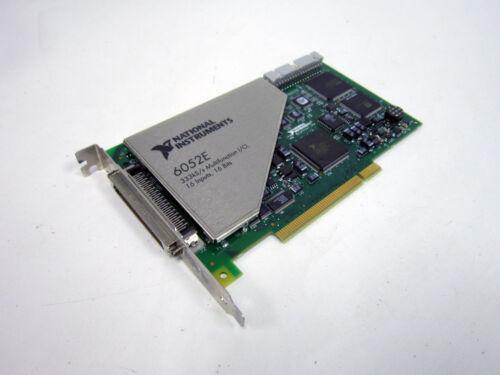 NATIONAL INSTRUMENTS PCI-6052E 333 KS/S 16-BIT 16-ANALOG-INPUT ~ 185489C-01