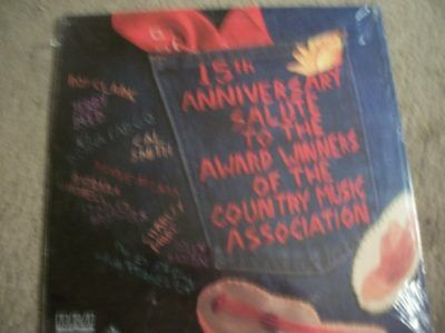 Sealed Country Music Awards 15Th Anniversary Parton Mandrell Etc   Rare  Lp