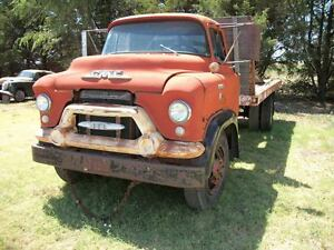 55 GMC Chevy cabover stubnose truck 1 1/2 2 ton