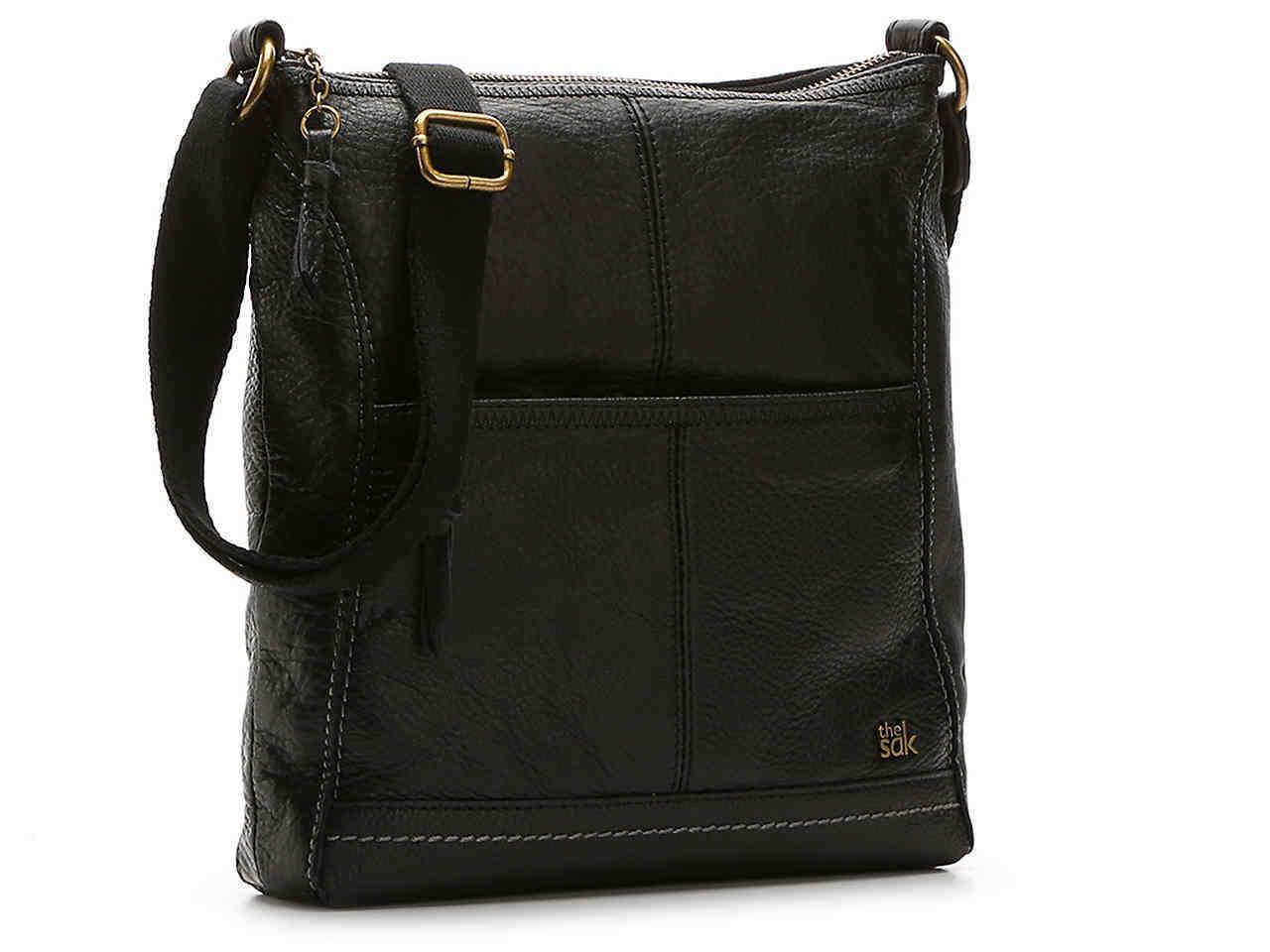 NEW The Sak Leather Iris Crossbody Bag