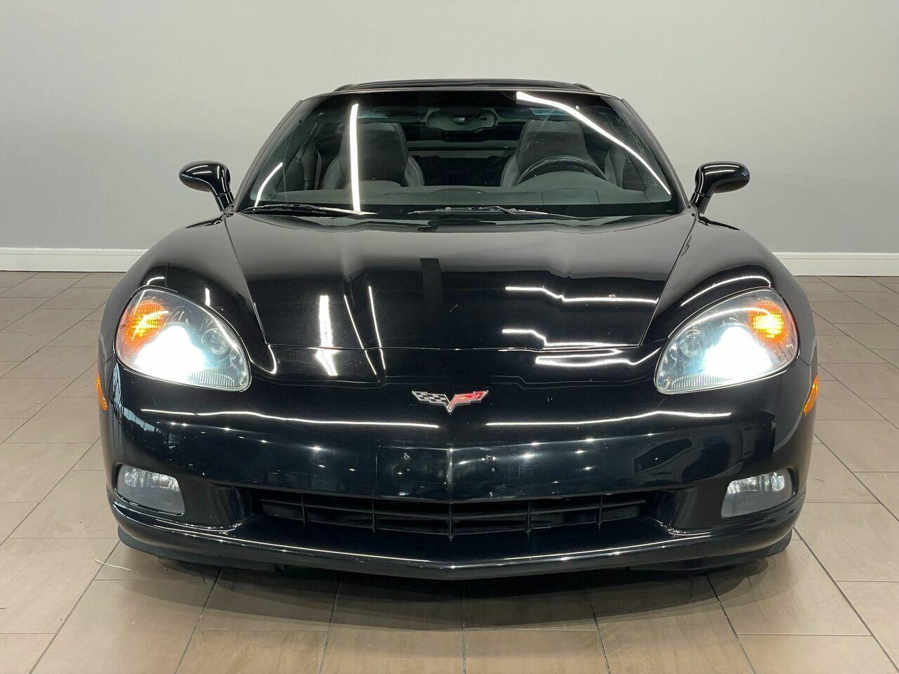2010 Black Chevrolet Corvette     C6 Corvette Photo 5