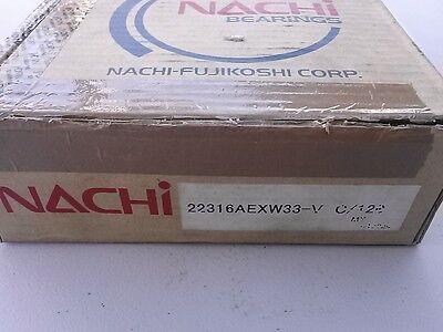 22316aexw33 Spherical Roller Bearing Bronze Cage Nachi Japan