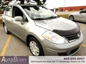2011 Nissan Versa 1.8 S *** CERTIFIED ** ONE OWNER *** $5,299