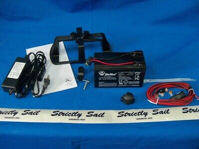 Fishfinder Install Kit with Battery, Item 72020070