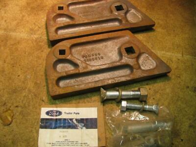 2 Ford 7100022 7100019 Plow Heavy Duty Landside Kits With Bolts