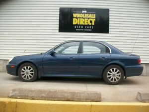 2002 Hyundai Sonata ALLOY WHEELS - FOG LIGHTS - AUTOMATIC