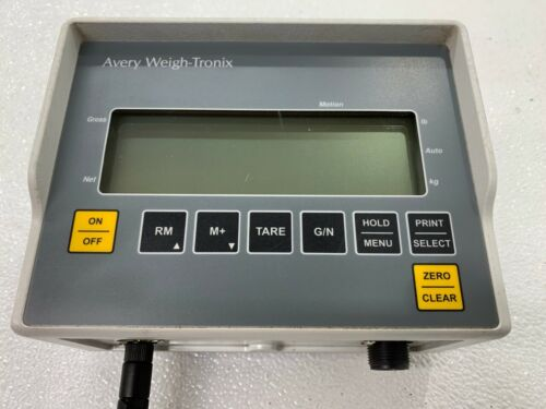 USED Avery Weigh Tronix RD40RF Remote Scale Indicator