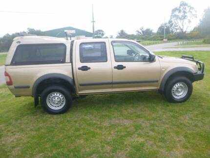 2006 HOLDEN RODEO DUAL/CAB**4X4 AUTOMATIC CANOPY**