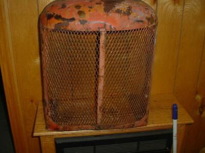 Original Allis Chalmers Wc-wd Tractor Front Grill Assembly Ac Wd-wc