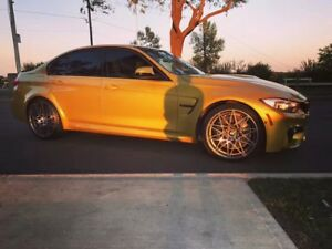 2017 BMW M3 Competition Manual
