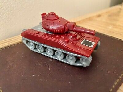 Transformers 1986 Takara Warpath red tank action figure