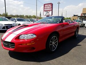 2002 Chevrolet Camaro Z28 Z28 35TH ANNIVERSERY SLP PACKAGE CONV