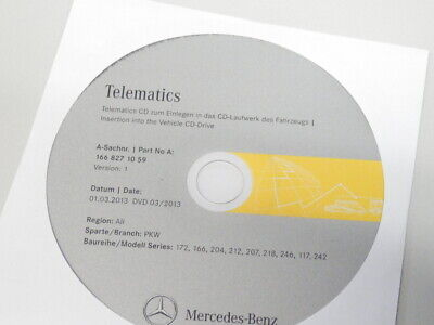 Telematics 03/2013 CD DVD Mercedes Benz Modelle 172 166 204 212 207 218 u.s.w