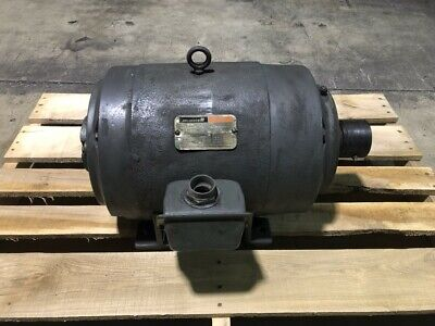 Reliance Electric Motor 10 Hp Frame 256ty 1170 Rpm 3 Phase