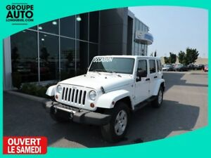 2012 Jeep Wrangler Unlimited SAHARA CUIR 4 PORTES RARE VEHICLE