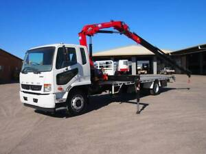 Fuso Fighter 1627 Crane Truck South Murwillumbah Tweed Heads Area Preview