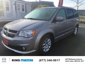 2015 Dodge Grand Caravan CREW! 7 PASSENGER! A/C! POWER SEATS! LO