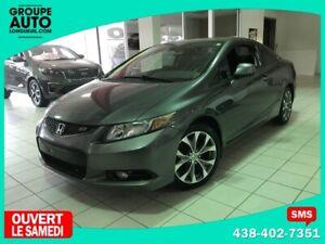 2012 Honda Civic Cpe Si / TOIT OUVRANT / BLUETOOTH / AC / DEMARR