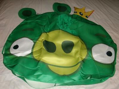King Pig Adult Green Costume Angry Birds Rovio PMG Halloween 2011 OSFM Used