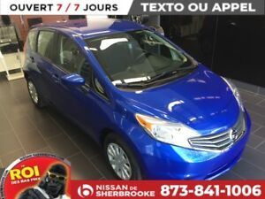 2016 Nissan Versa Note SV CAMERA DE RECUL / USB / BLUETOOTH +++