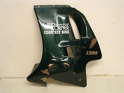 TRIUMPH TROPHY 1200 LEFT HAND SIDE FAIRING PANEL RACING GREEN WILL FIT