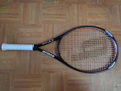 Rare Prince O3 Silver PINK edition 118 head 4 3/8 grip Tennis Racquet