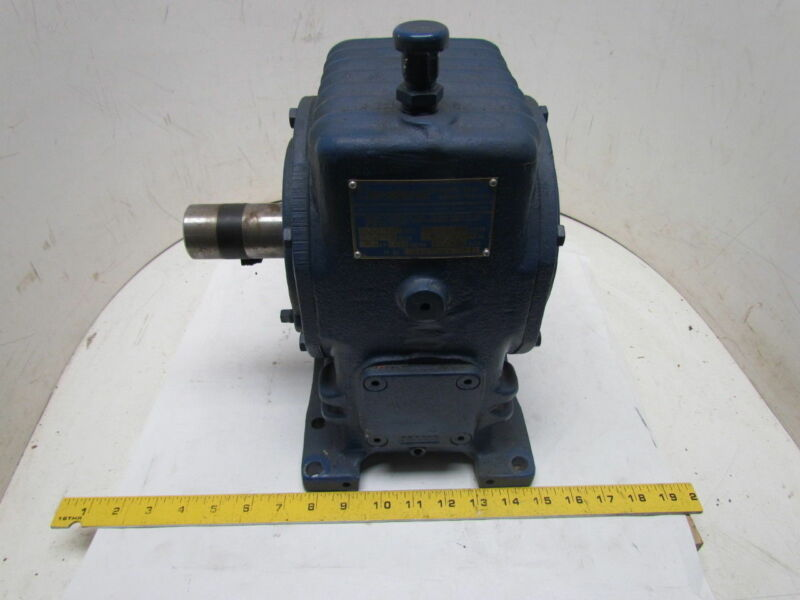 Cleveland 35AF Worm Gear Speed Reducer 40:1 Ratio 2.7HP 1750 RPM 25C Series