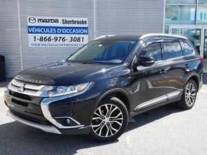 2016 Mitsubishi Outlander GT CUIR TOIT OUVRANT S-AWC