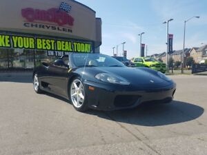 2003 Ferrari 360 Spider LEATHER