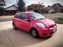 2011 Toyota Yaris YR Auto Pink, Low Kms Werribee South Wyndham Area Preview