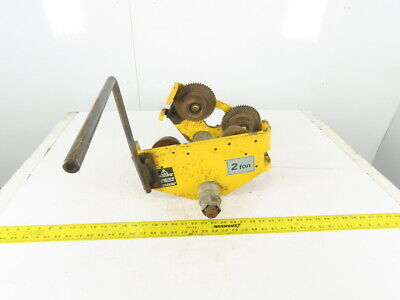 2 Ton 3 To 14 Beam Push Pull Hoist Trolley