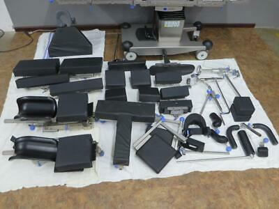 Huge Lot 24 Accessories Trumpf Mars Jupiter Or Surgical Table Legmaster Steris