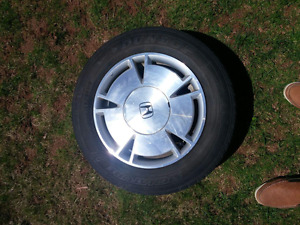 15 inch tire on alloy rims