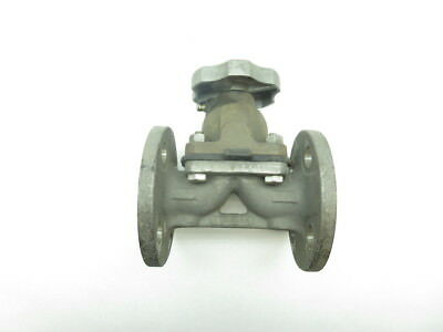 Hills Mccanna Stainless Flanged Diaphragm Valve 1in