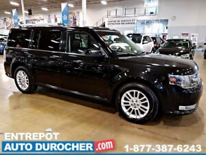 2013 Ford Flex SEL 4X4 - 7 PASSAGERS - TOIT OUVRANT - A/C - CUIR