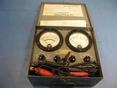Simpson Electric Tachometerdwell Test Set 4-000tds-2
